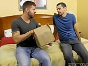 Jake returns the package to Preston