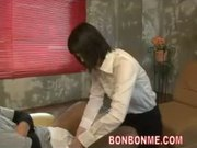 cute foot masseur gives nice blowjob and fucked with guest 02