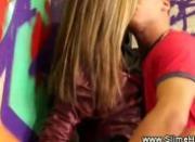 Gloryhole couple get hot wanting bukake
