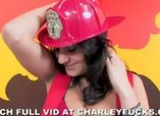 Pornstar Charley Chase Firefighter Scandal Video