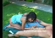 Nyomi Marcela Backyard Banging