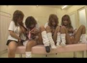Tan Japanese Schoolgirls Touch and Toy [Censored]