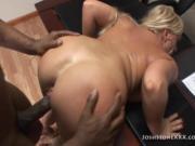 Big Tit MILF Alexis Golden Fucks Big Black Cock Boss