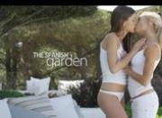 Art lesbian pornstars in spanish garden