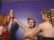 Lesbian Group Bondage
