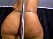 Blasian Poledancer - Sunami