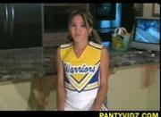Eurasian cheerleader panty goddess Kitty