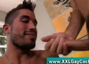 Gay big cock blowjob and ass fucking