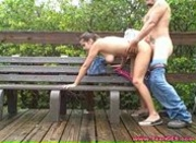 Naughty Couple Fucking Outdoors