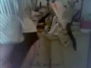 Blonde BBW Riding A Dildo On Webcam