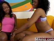 Holla Black Girlz Sydnee Capri Stacey Cash Lesbian Toys Ebony