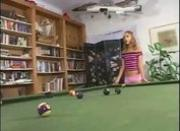 Kate fucked on billiards table