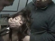 Tipsy Girl manhandled in train toilet