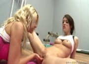 Jazy Berlin and Aiden Ashley: Sexual Evaluations