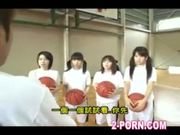 jap schoolgirl does basketball practice handjob
