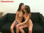 Sexy Teen Lesbo Threesome