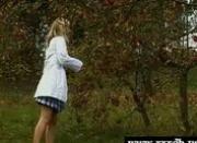 Yvonne seduces the gardener