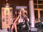Biker babes from Bavaria - Julia Reaves