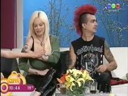 Sabrina Sabrok Biggest Breast Blooper Nipple on TV