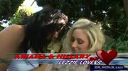 Hillary Scott and Ariana Jolie lesbian lickers