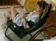 Chubby Redhead Housekeeping Lady