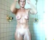 Mature Mum In The Shower