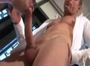 Blowing him to get my hard dick in his ass