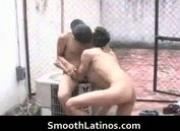 Super smooth gay latinos having gay sex