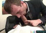 Cameron is really good sucking his boss dick