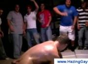 College boys get dared to wrestle naked