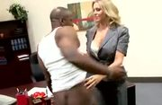 MILF Julia Ann Office Sex