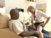 Julia Ann Hires Black Guy to Clean House