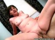Hardcore horny grandma sex