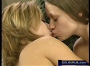 Two Teen Lesbians Share One Dildo