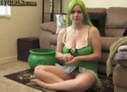 Sexy Danielle\'s Green Things