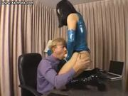 BellaDonna fucks guy with strap-on