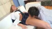 Bella Schoolgirl Creampie with Asian Guy