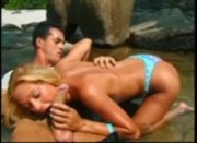 Blonde Marushka Beach sex