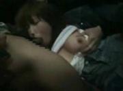 Drunk Girl on Subway