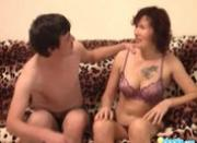 Homemade milf banging sex tape