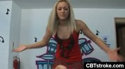 Tattoo chick gives rough pov handjob