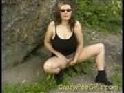 Crazy pee girls pissing hard