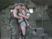 Temptress army threesome