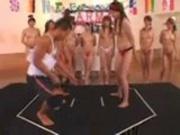 Asian Gym Girls