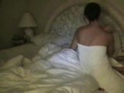 Amateur She Wakes Him Up With A Blow Job