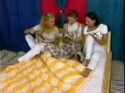 three lesbian girls - Slumber Party