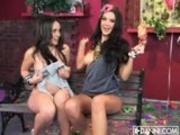 Sophia Santi and Christina Rose