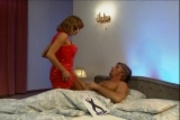 Anita Blonde in threesome