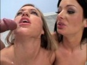 melissa lauren and friend get double facials