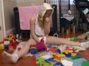 ABDL diapered ladies playing